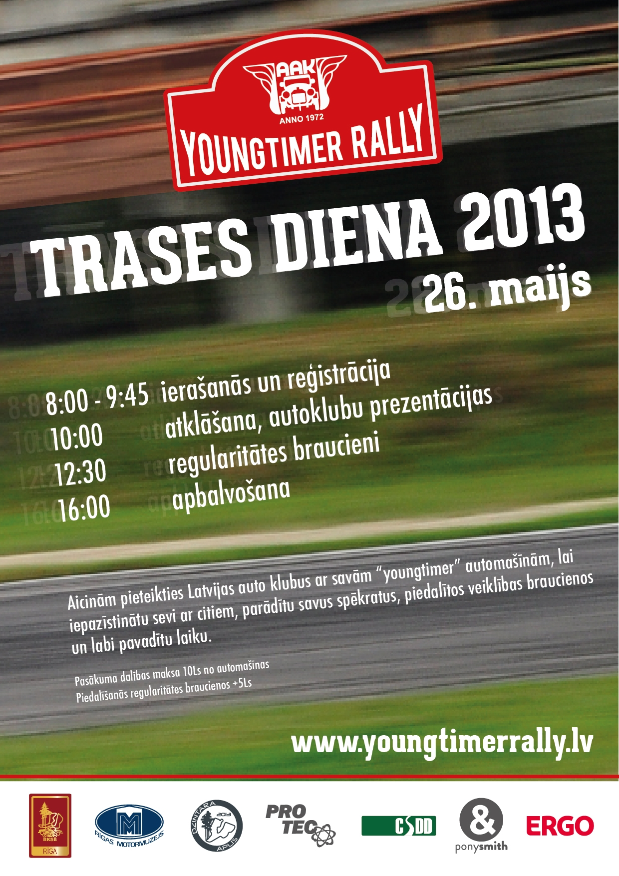 Youngtimer Rally Trases diena 2013