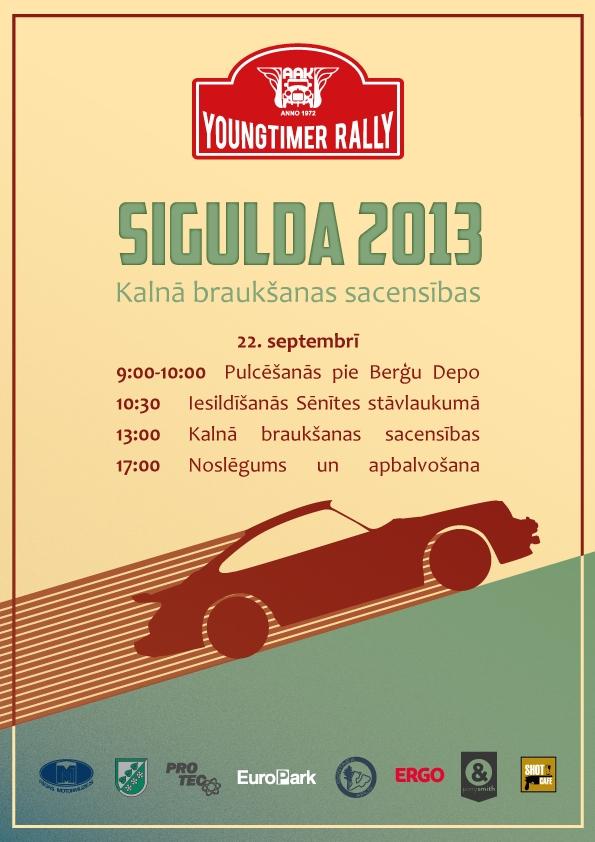 Youngtimer Rally Sigulda 2013